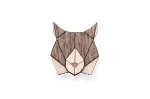 Lynx Brooch