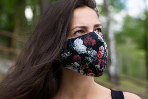 Rose Rubber Mask